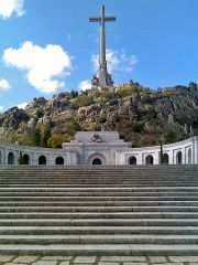 San Lorenzo de El Escorial: Valley of the Fallen monumental memorial