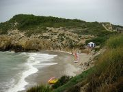 Sitges: Cala del Home Mort gay nudist beach